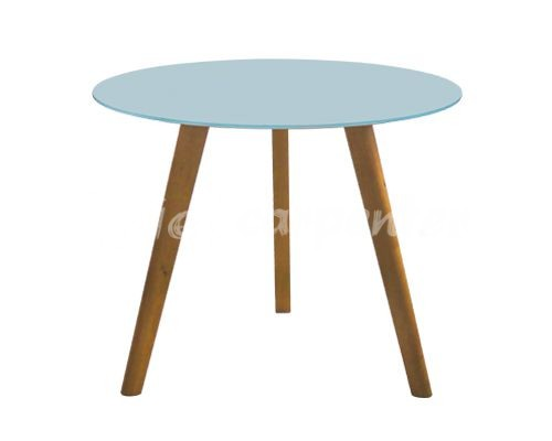 bàn ăn tròn mặt kính kết hợp với 4 ghế ăn