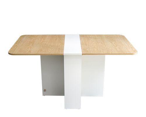 bàn ăn thông minh gấp gọn thiết kế gấp 2 cánh chân bàn thiết kế có chứa đồ