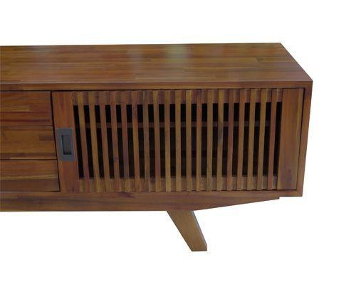 mẫu kệ tivi chân gỗ vtv01 viet carpenter