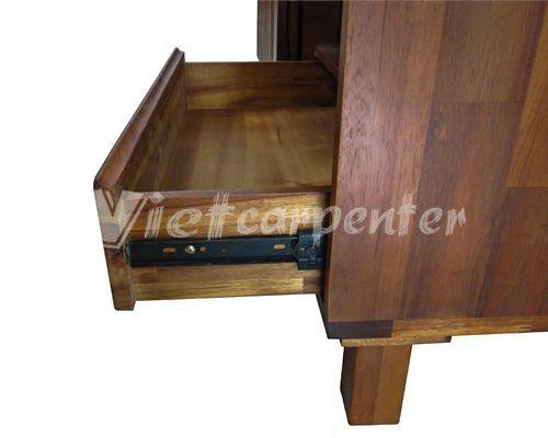 chi tiết mẫu kệ tivi vtv 02 viet carpenter