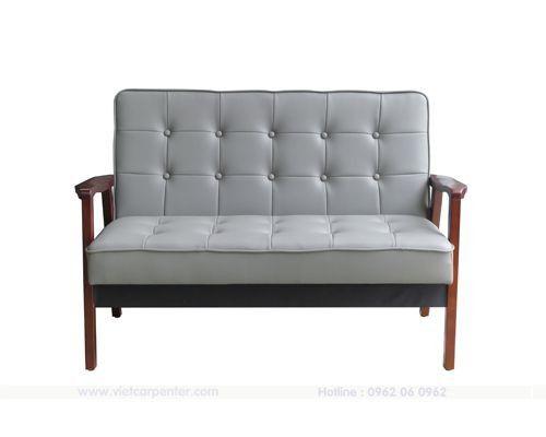 ghế sofa đơn dài cách điệu theo phong cách retro của việt carpenter