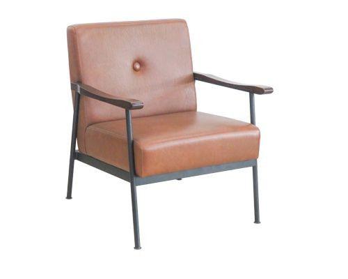 ghế sofa đơn đẹp phong cách vintage