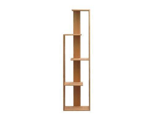kệ sách gỗ đứng để bàn 5 tầng đẹp