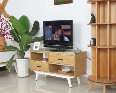 kệ tivi gỗ sồi phong cách cổ điển cao cấp