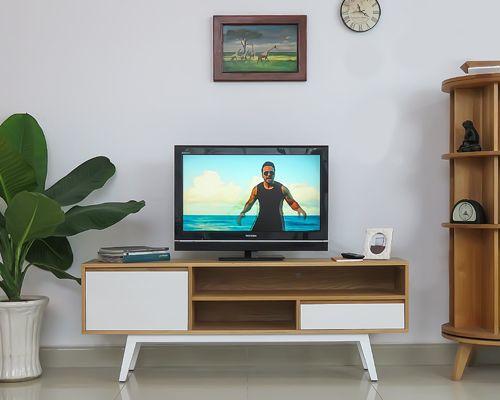 kệ tivi gỗ sồi tự nhiên sử dụng cho phòng khách và phòng ngủ dài 1.6m