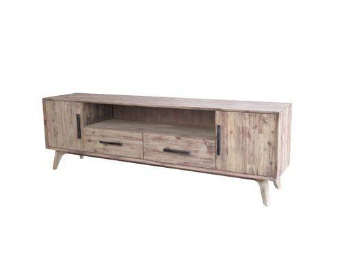 mẫu kệ tivi hiện đại gỗ cào xước theo phong cách cổ điển