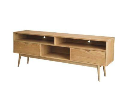 kệ tivi gỗ tự nhiên giá rẻ cho phòng khách 100% chất liệu gỗ sồi