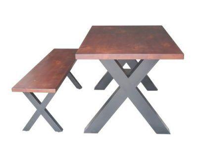mẫu bàn ghế ăn ngoài trời thích hợp để những nơi sân thượng quán cà phê