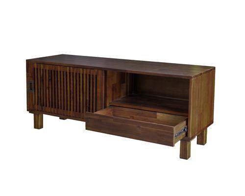 mẫu kệ tivi có hộc kéo giá rẻ viet carpenter