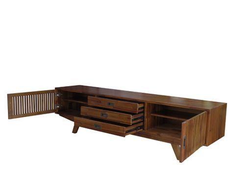 mẫu kệ tivi phòng khách vtv kích thước 1800x400x500 viet carpenter