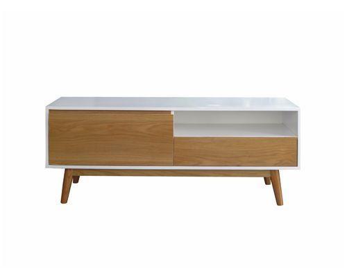mẫu kệ tivi phòng khách đẹp đơn giản bằng gỗ mã số vtv03