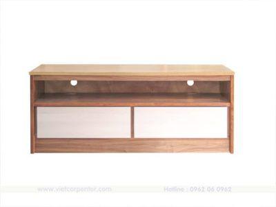 mẫu tủ kệ tivi gỗ sồi walnut nhập khẩu