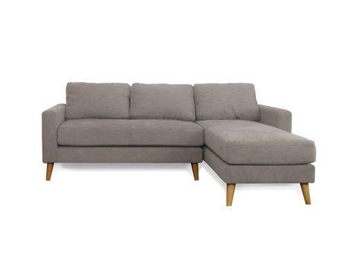 sofa vải cho phòng khách thiết kế hình góc L