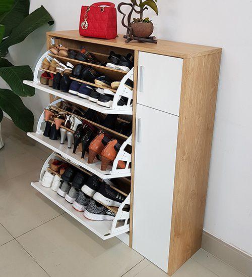 tủ đựng giày dép siêu thông minh tiết kiệm diện tích vtg03