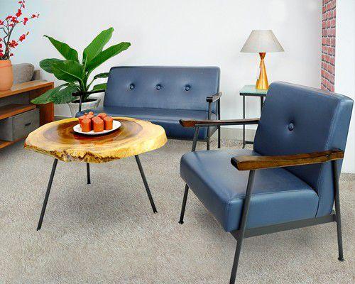 bộ sofa cổ điển vintage những thập niên 90 phù hợp cho các phòng khách chưng cư, quán cafe để tạo ra không gian homestay