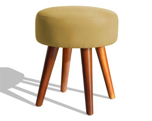 ghế đôn sofa nệm màu sắc vàng đậm
