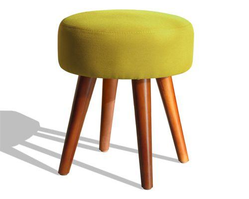 mẫu ghế đôn sofa giá rẻ phong cách hiện đại sinh động màu sắc vàng