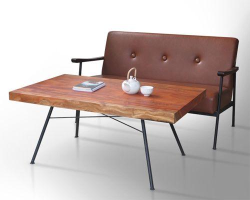 bàn trà đẹp chấ liệu gỗ tự nhiên dùng tiếp khách kết hợp bộ sofa phòng khách