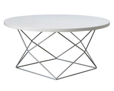 bàn trà phòng khách decor sắt nghệ thuật kết hợp nên mẫu hiện đại theo hình kim cương