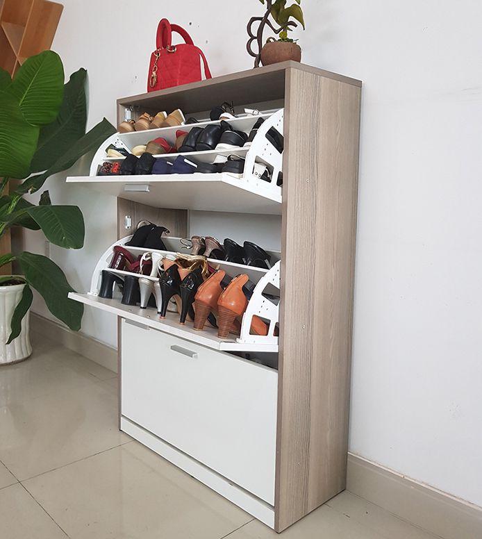 tủ giầy gỗ thông minh đẹp mã số vtg05