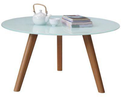 bàn sofa tròn đẹp mặt kính thiết kế phù hợp với sofa phòng khách