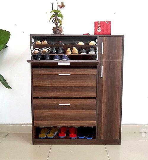mẫu tủ giày đẹp việt carpenter vtg08