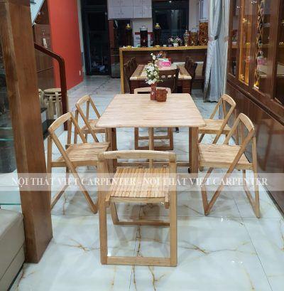 bàn ghế ăn thông minh xếp gọn giá rẻ giá 2 triệu