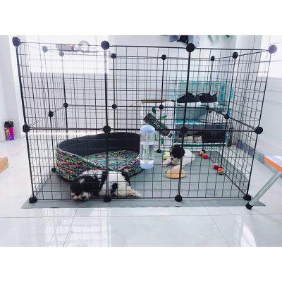 Chuồng nuôi thú cưng chó, mèo, thỏ, sóc, chuột, lắp ghép tự làm tại nhà