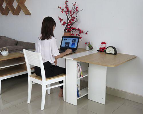 bàn làm việc giá rẻ thiết kế thông minh theo phong cách hiện đại đẹp chất lượng