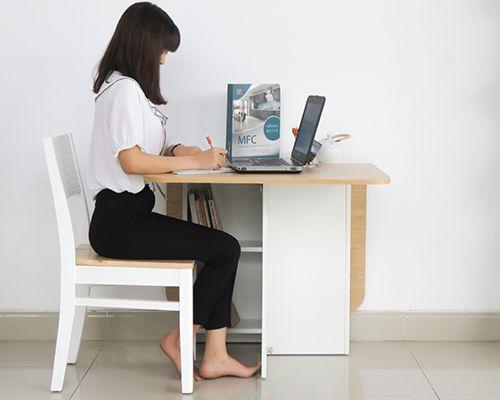 thiết kế bàn làm việc nhỏ gọn siêu đẹp