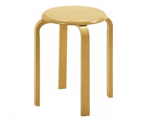 ghế đôn gỗ tròn phong cách nhật bản