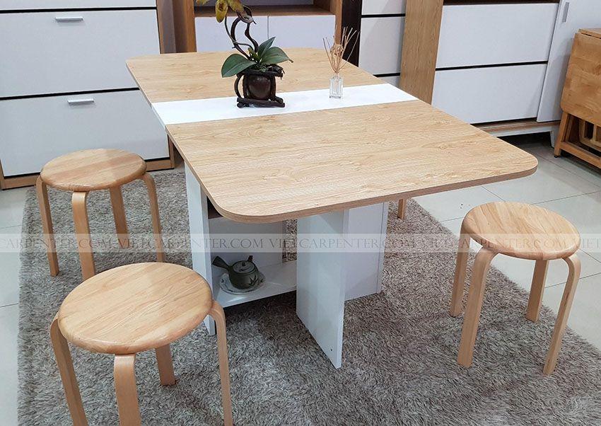 Bàn ăn 4 ghế đẹp vba-11