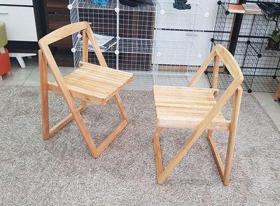 Ghế ăn gỗ gấp gọn thông minh