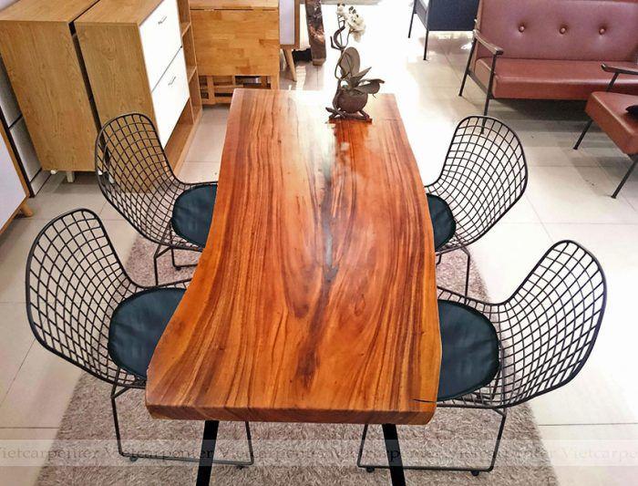 mặt bàn gỗ nguyên tấm vba-12
