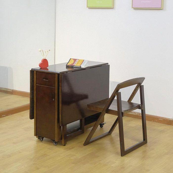 bàn ăn thông minh tiết kiệm diện tích cho chung cư căn hộ thiết kế nhỏ gọn